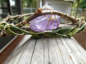 Amethyst Ostara Crown